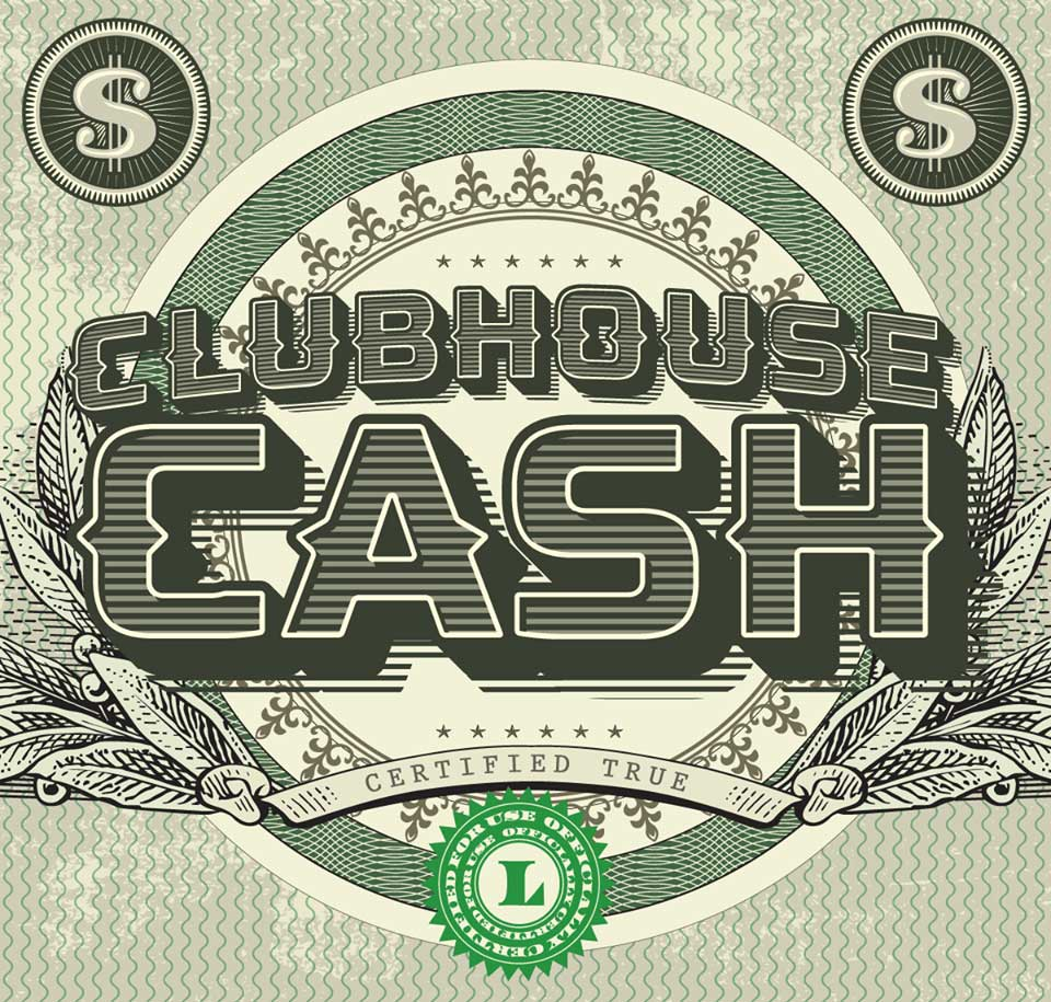 CLUBHOUSE CASH - A GENERIC PAYMENT METHOD FOR PERSONALS