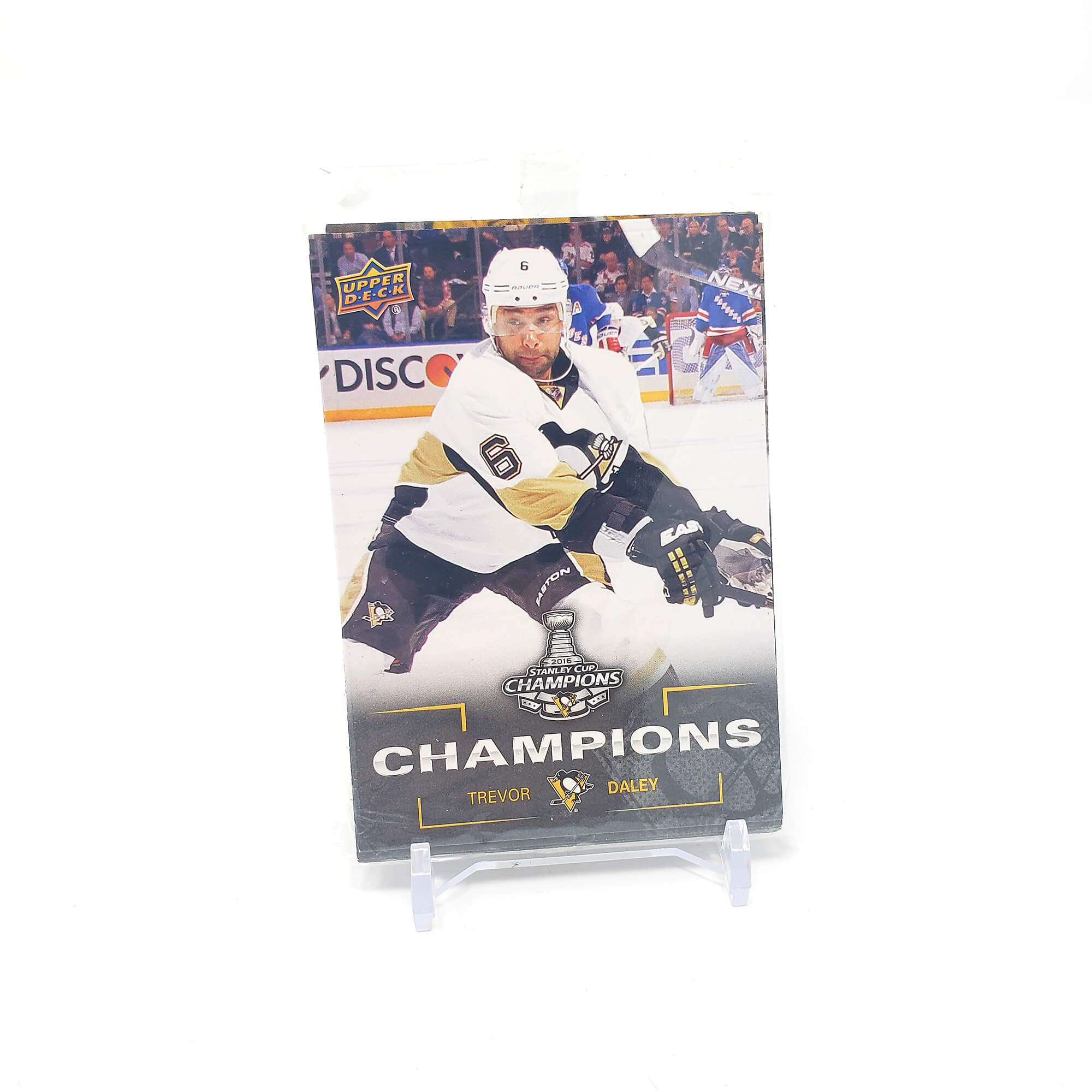 2016 Upper Deck Stanley Cup Champions Pittsburgh Penguins