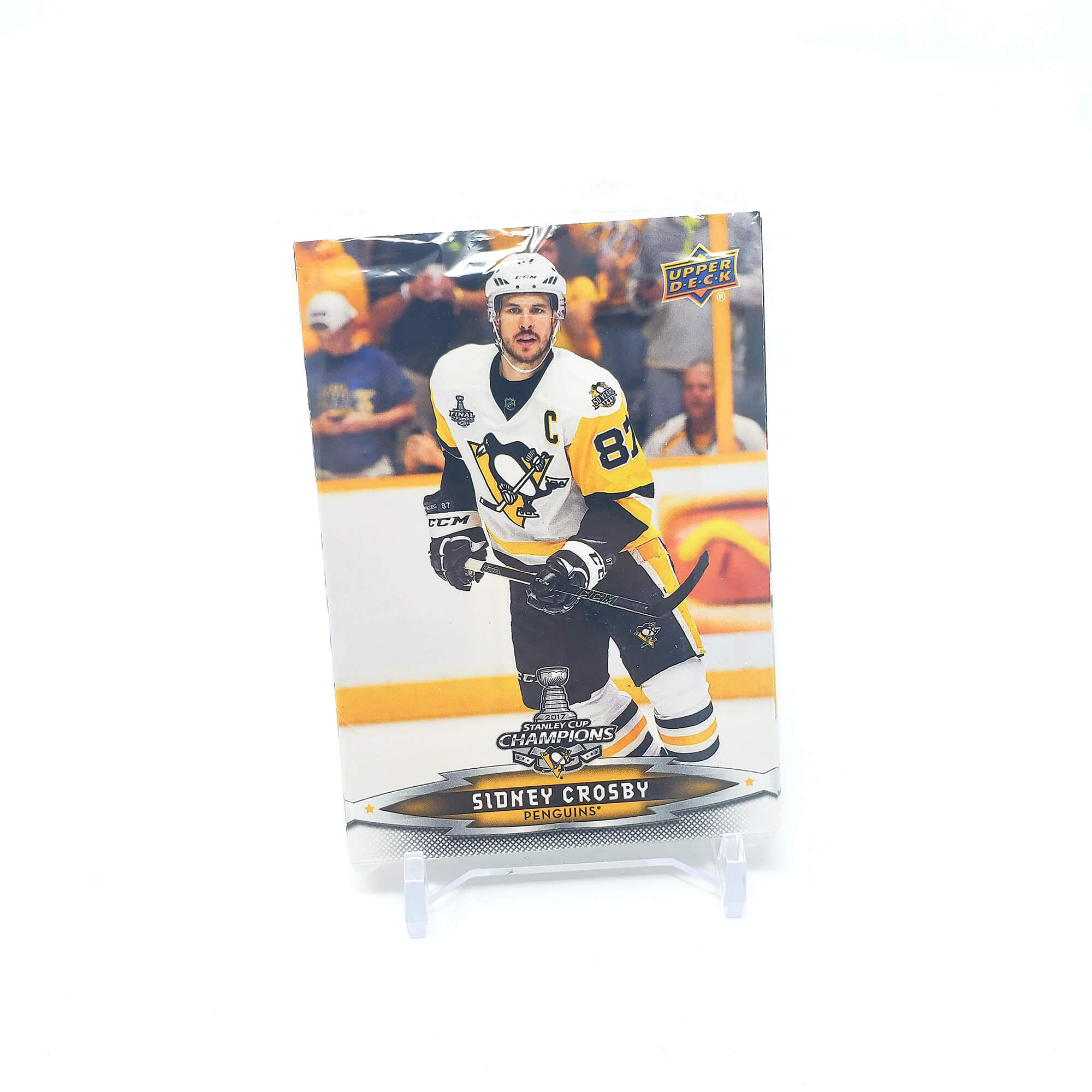 2017 Upper Deck Stanley Cup Champions Pittsburgh Penguins
