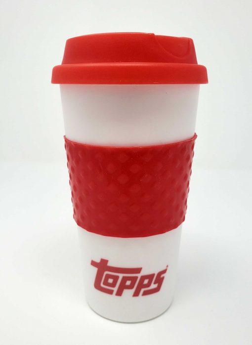 Topps Red Travel Mug