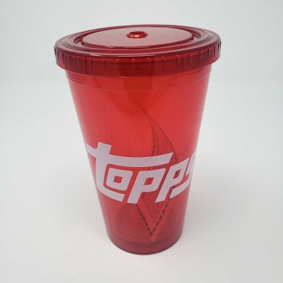 Topps Red Travel Tumbler