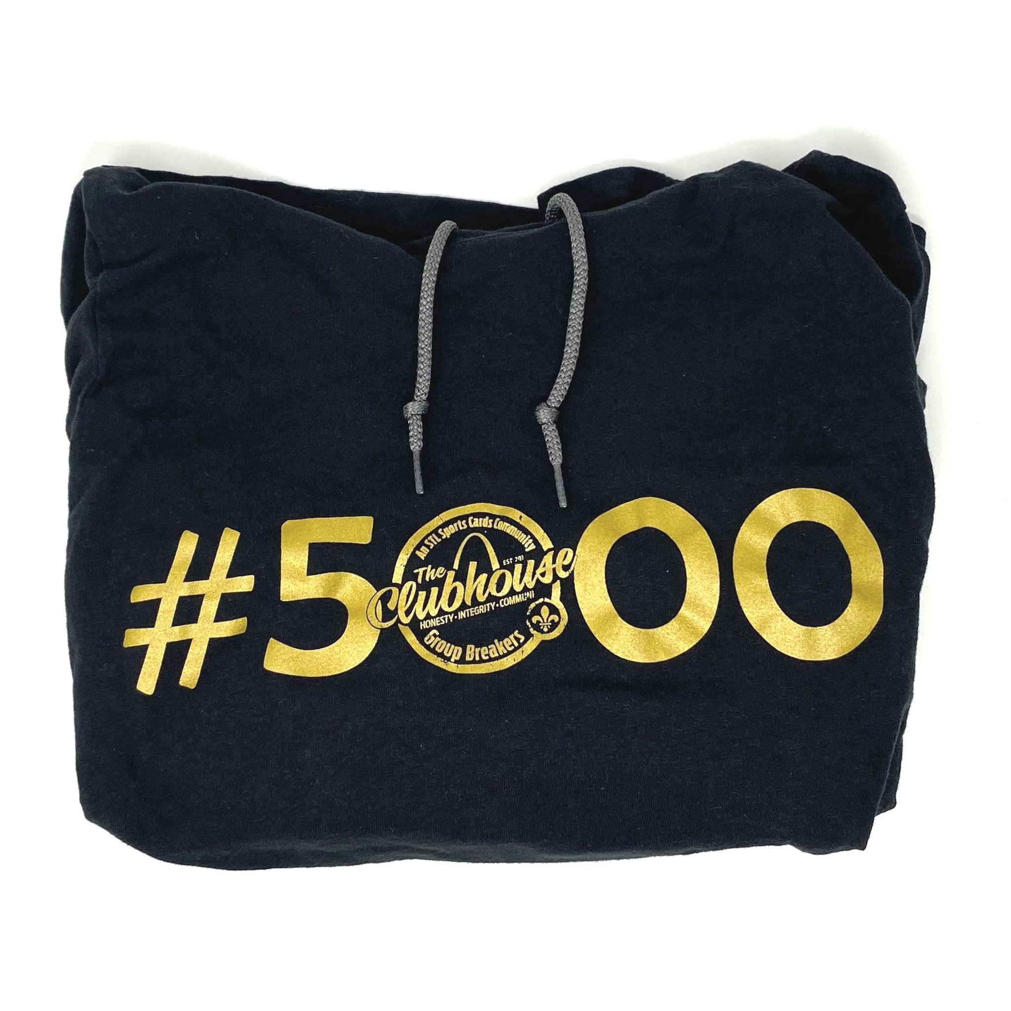 The Clubhouse Break #5000 Hooded T-Shirt, Large
