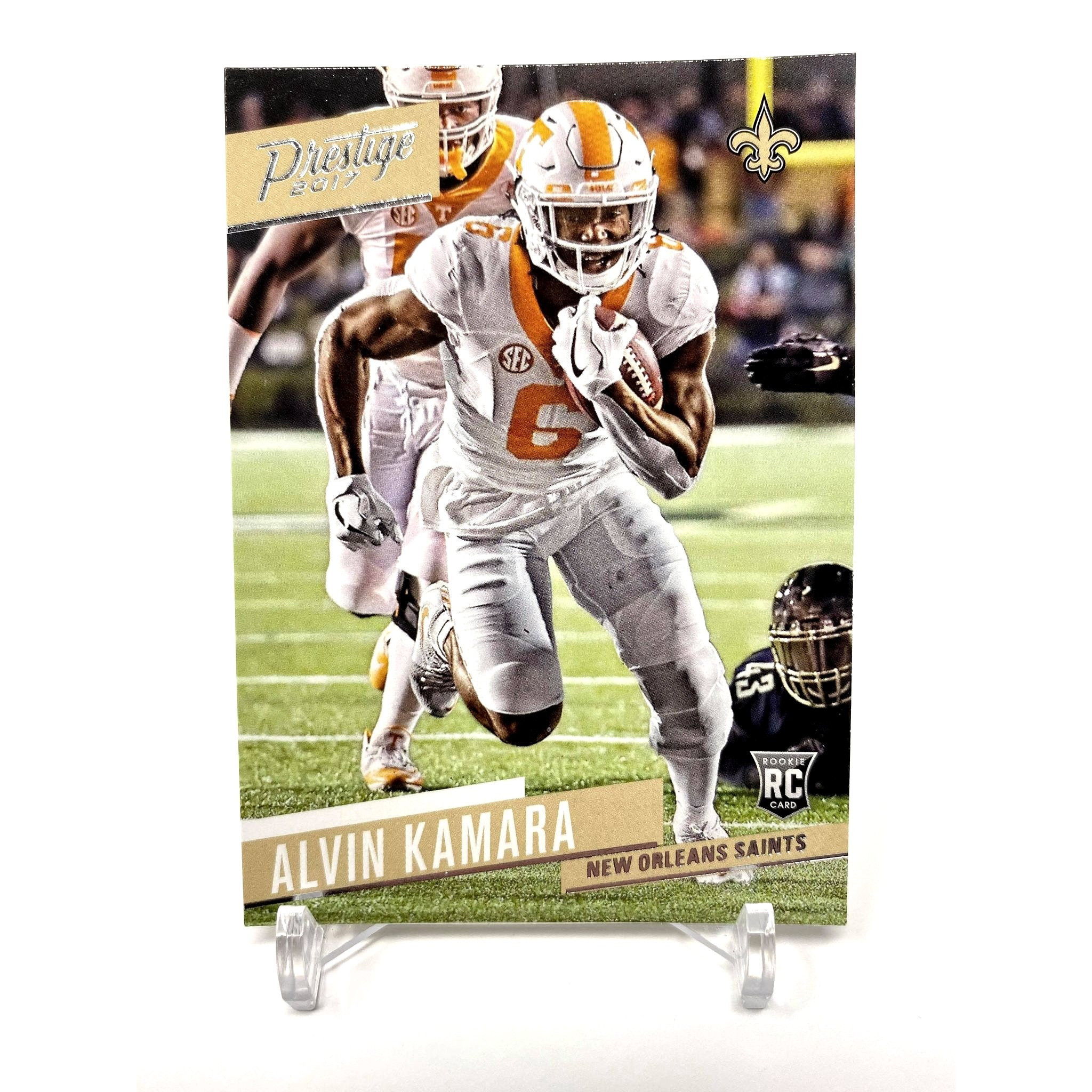 2017 Panini Prestige Alvin Kamara Rookie Card New Orleans Saints