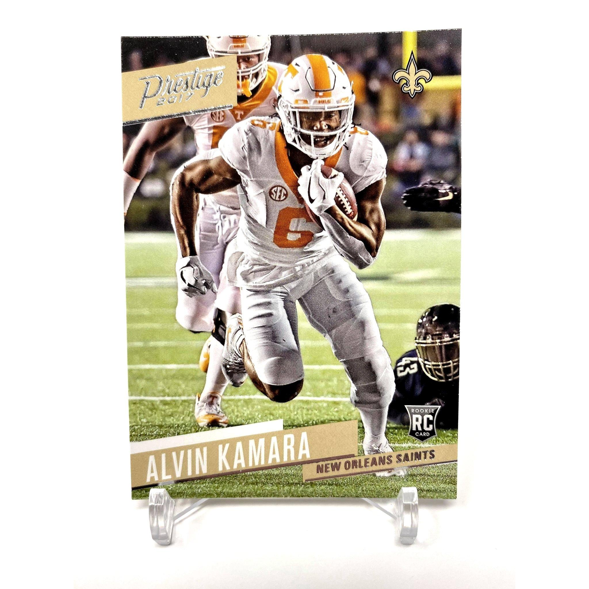 2017 Panini Prestige Alvin Kamara Rookie Card New Orleans Saints