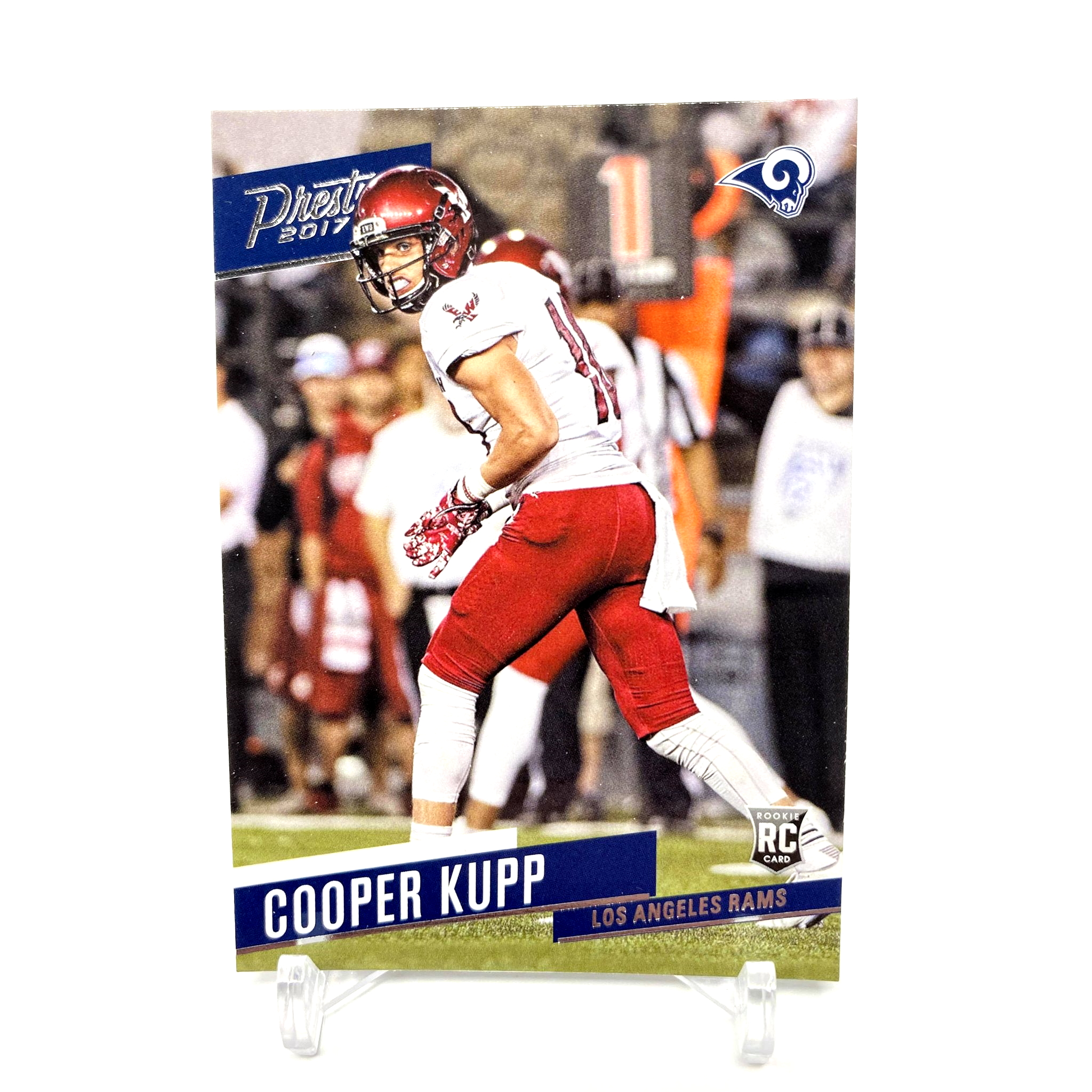 2017 Panini Prestige Cooper Kupp Rookie Card Los Angeles Rams