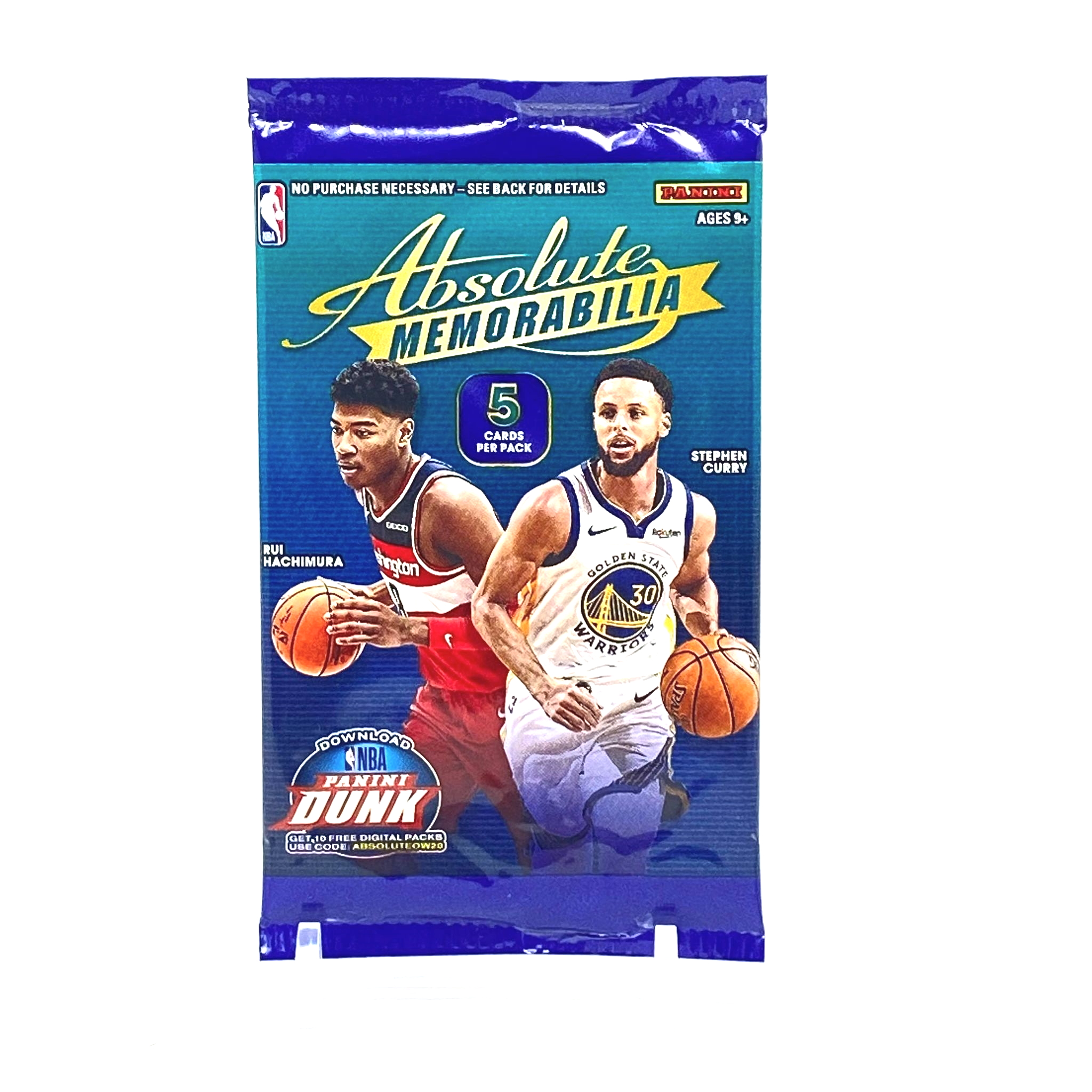 2019-20 Panini Absolute Memorabilia Basketball Gravity Pack (Ships Sealed)