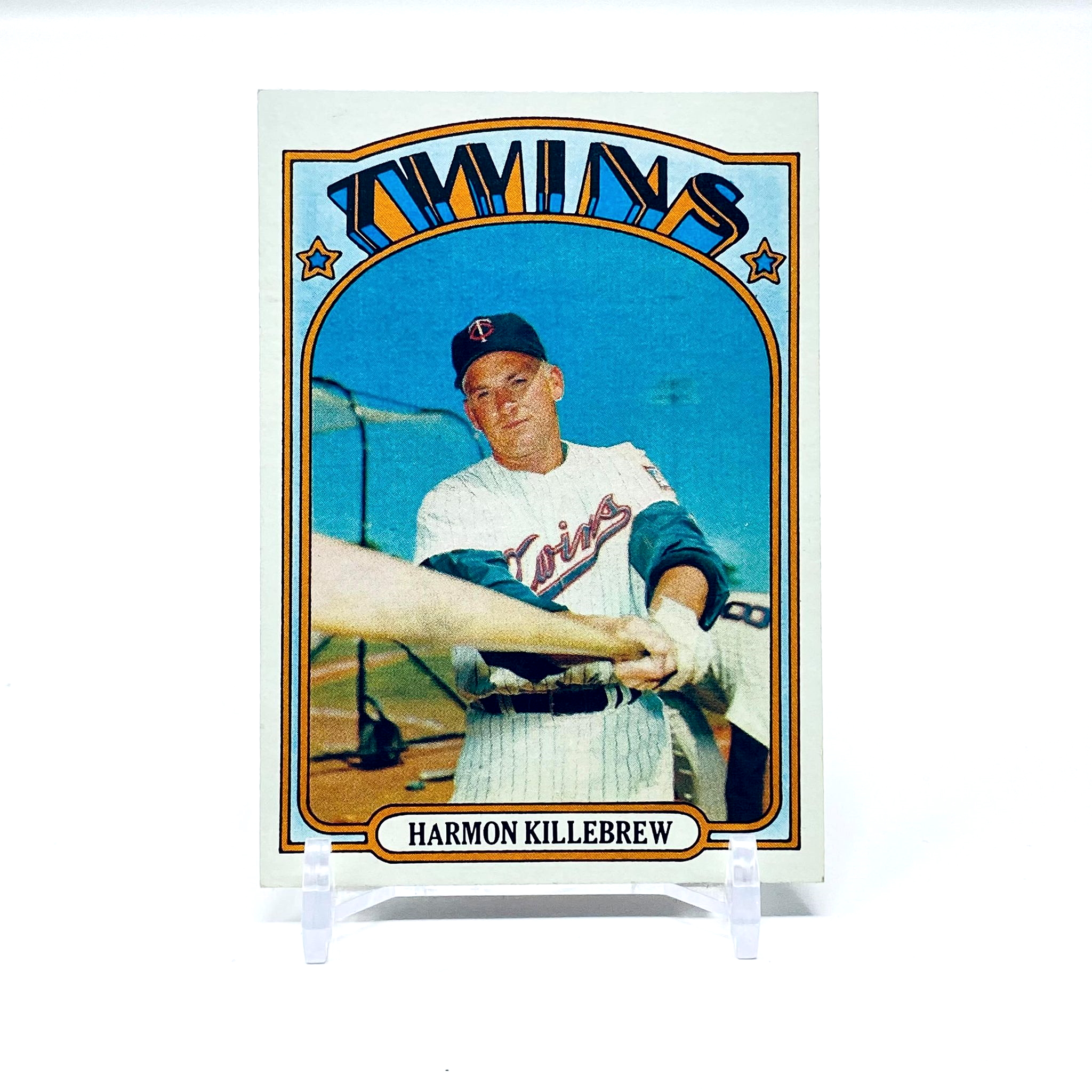 1972 Topps Harmon Killebrew Minnesota Twins