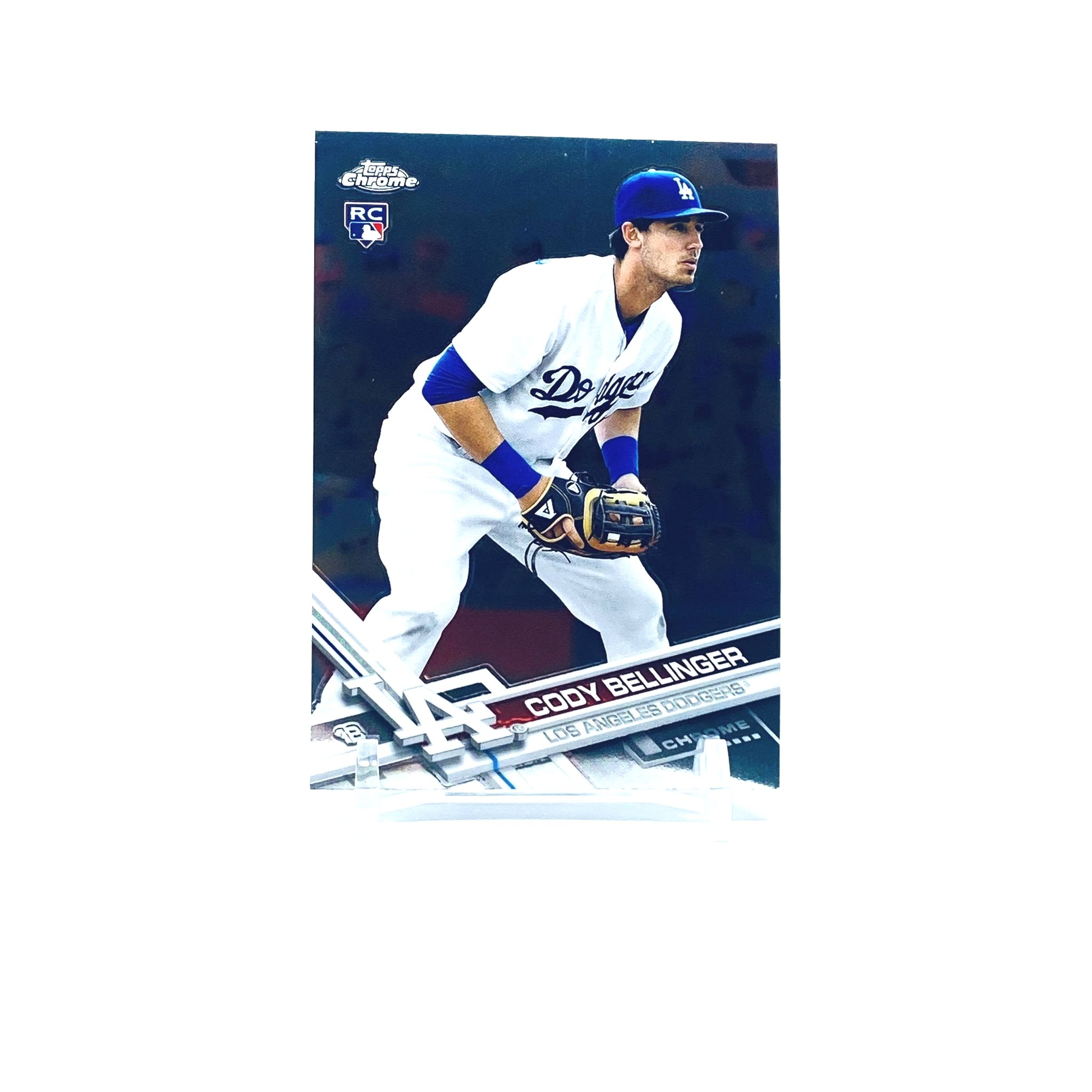 2017 Topps Chrome Cody Bellinger Rookie Card Los Angeles Dodgers
