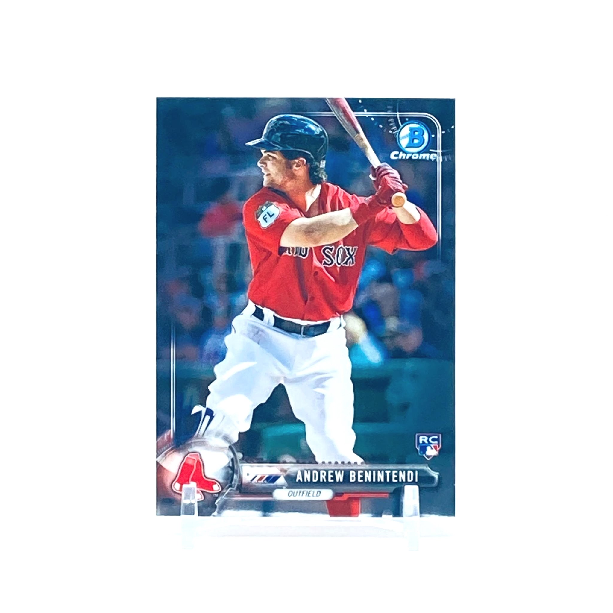 2017 Bowman Chrome Andrew Benintendi Rookie Card Boston Red Sox