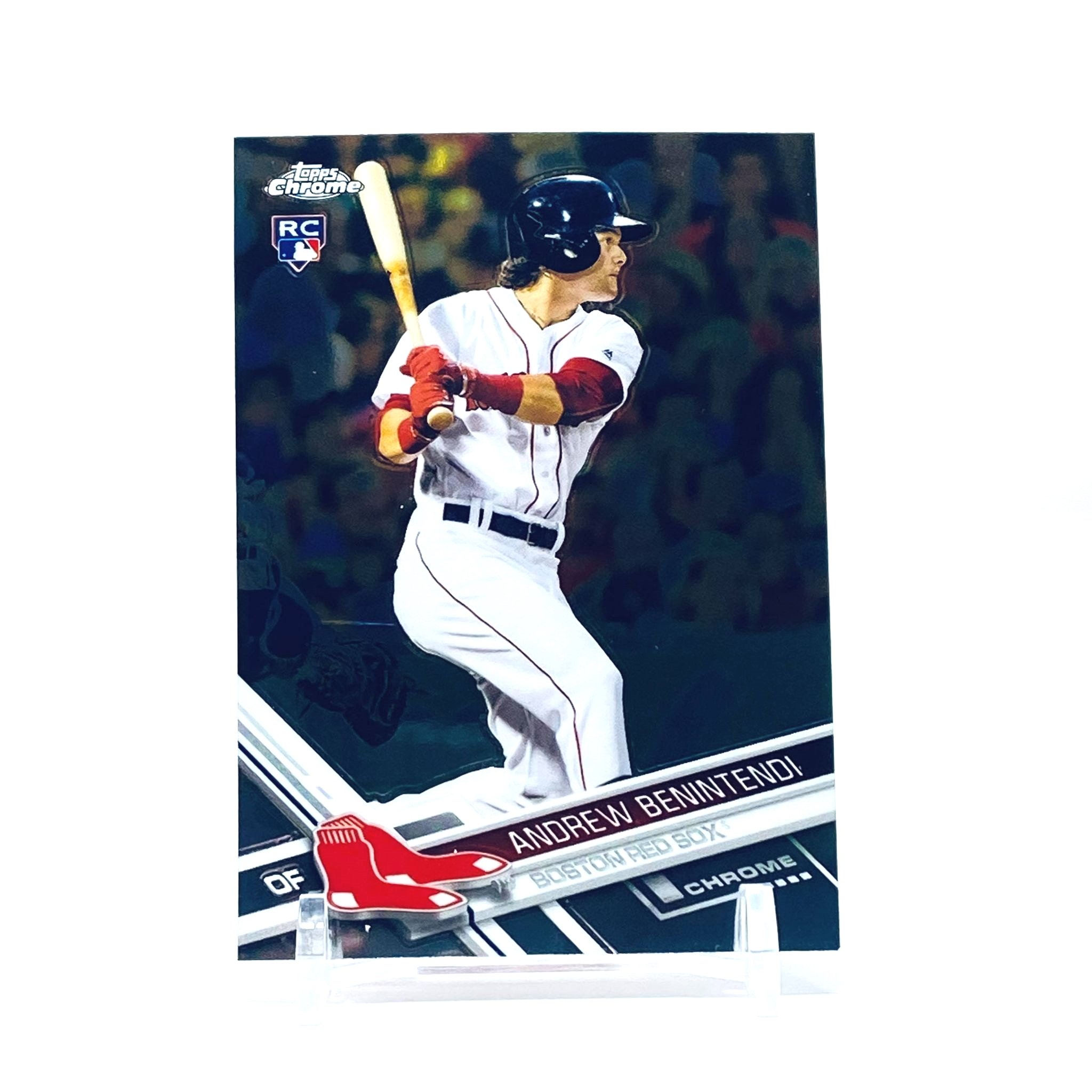 2017 Topps Chrome Andrew Benintendi Rookie Card Boston Red Sox