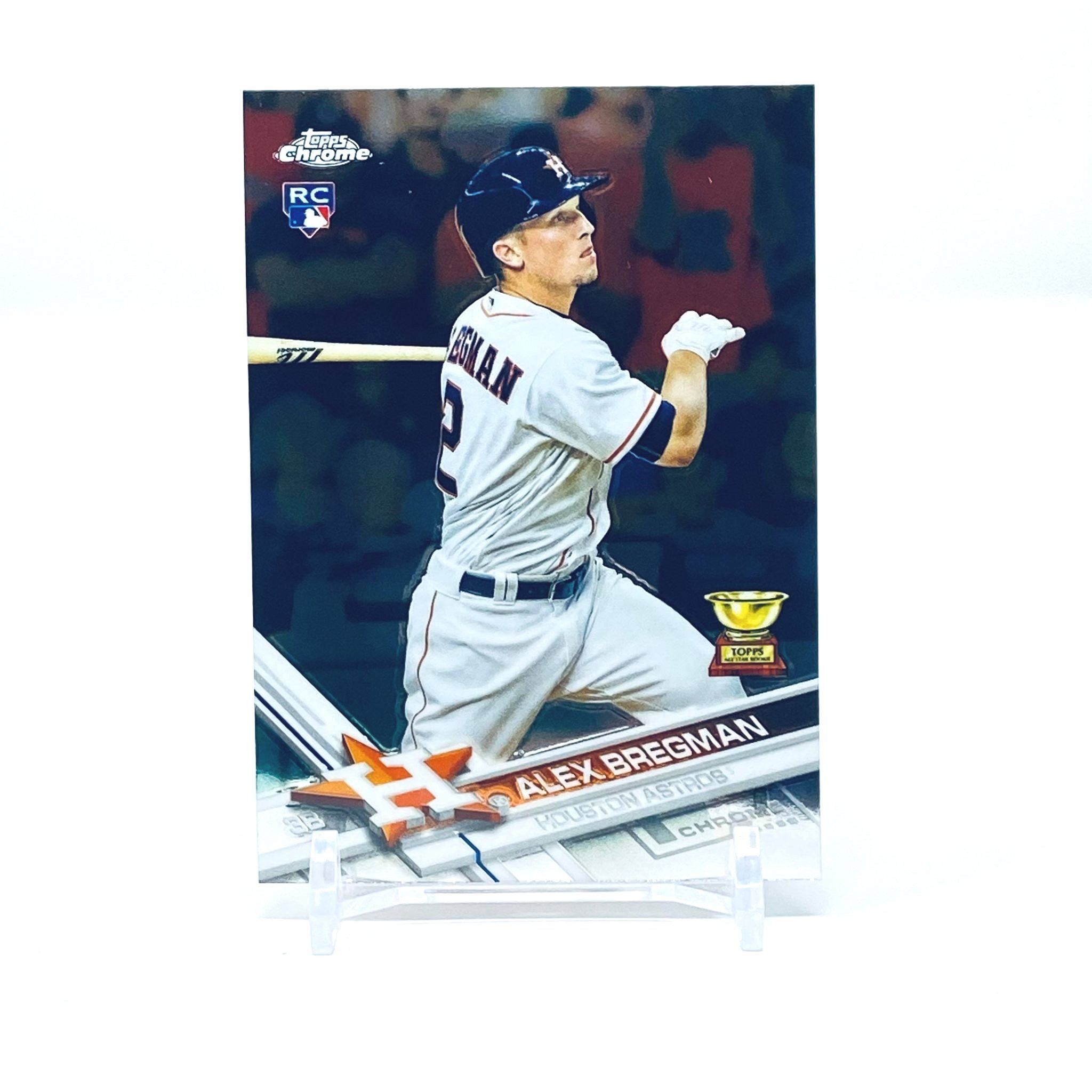 2017 Topps Chrome Alex Bregman Rookie Card Houston Astros