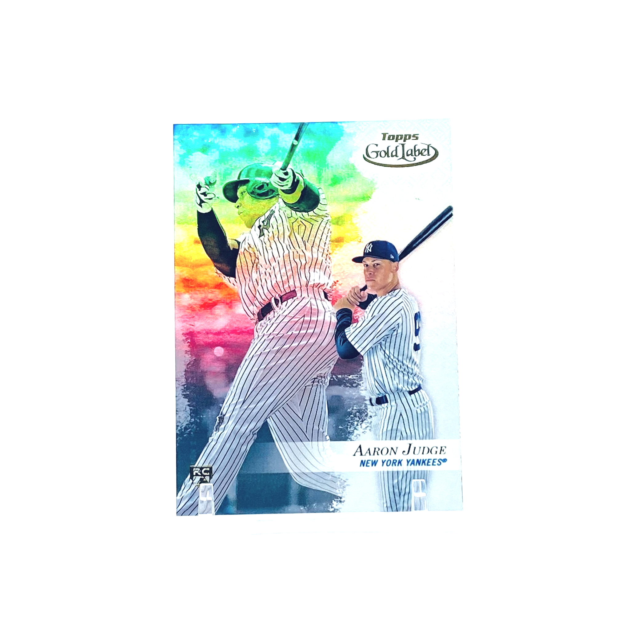 2017 Topps Gold Label Class 2 Aaron Judge Rookie Card New York Yankees