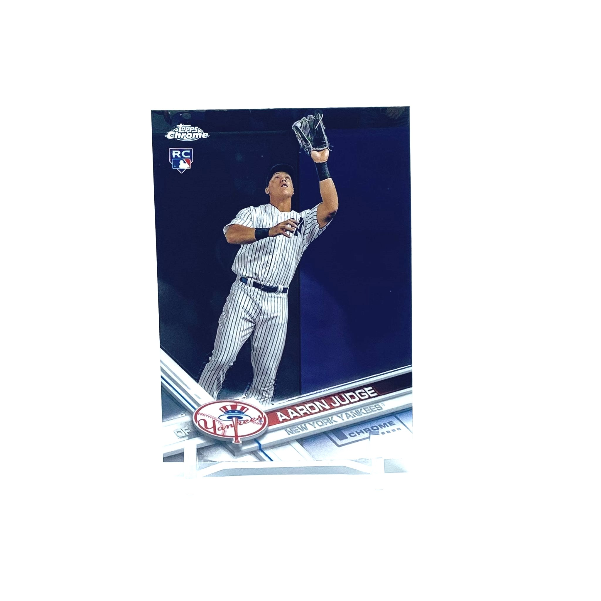 2017 Topps Chrome Aaron Judge Rookie Card New York Yankees