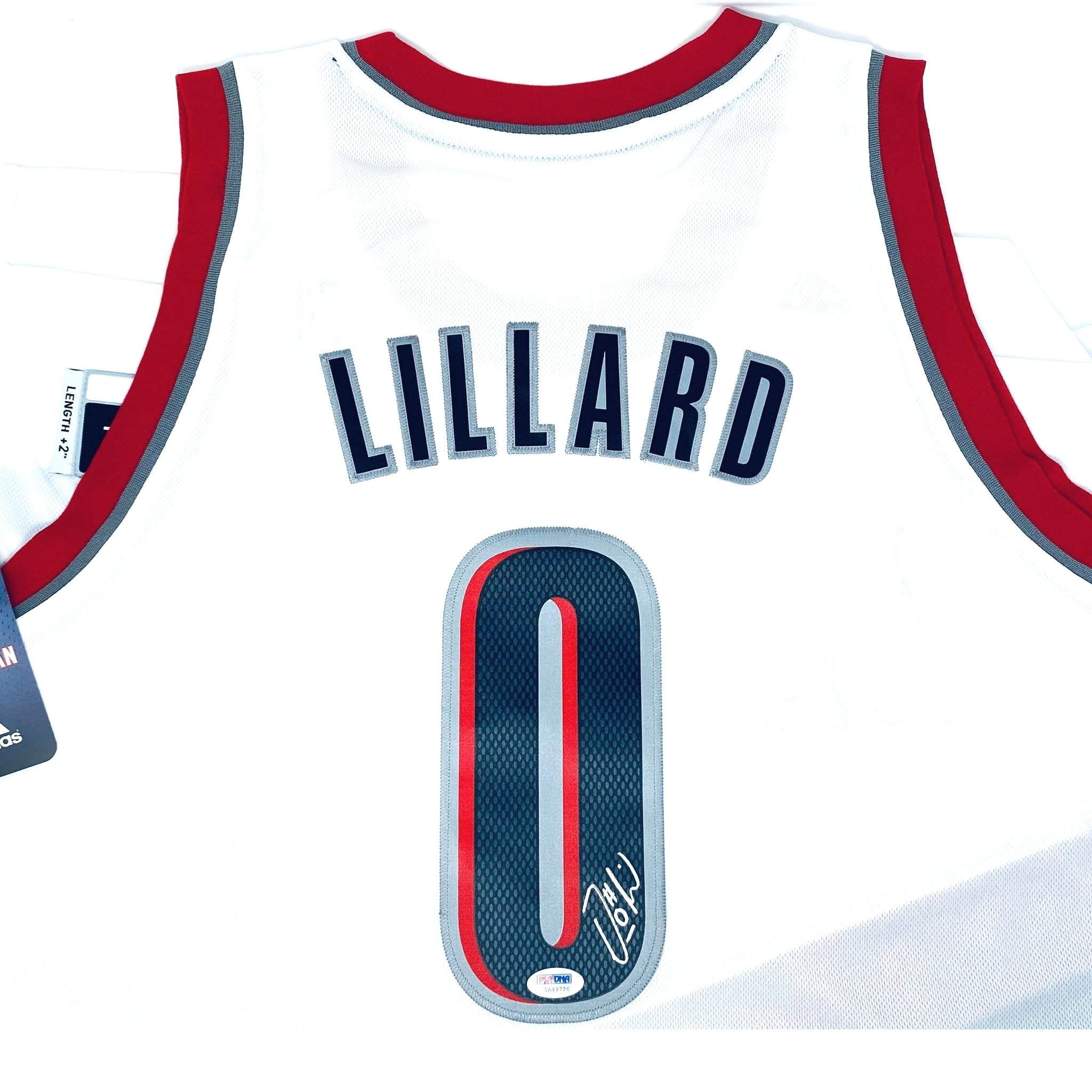 Damian Lillard Autographed Jersey Portland Trail Blazers