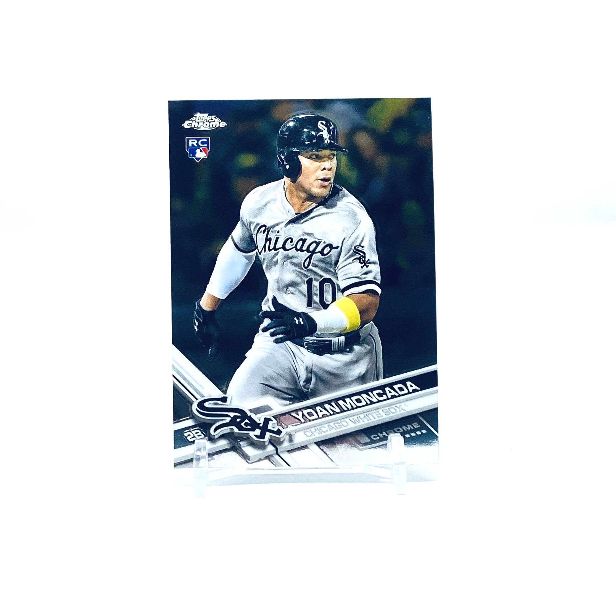 2017 Topps Chrome Yoan Moncada Rookie Card Chicago White Sox