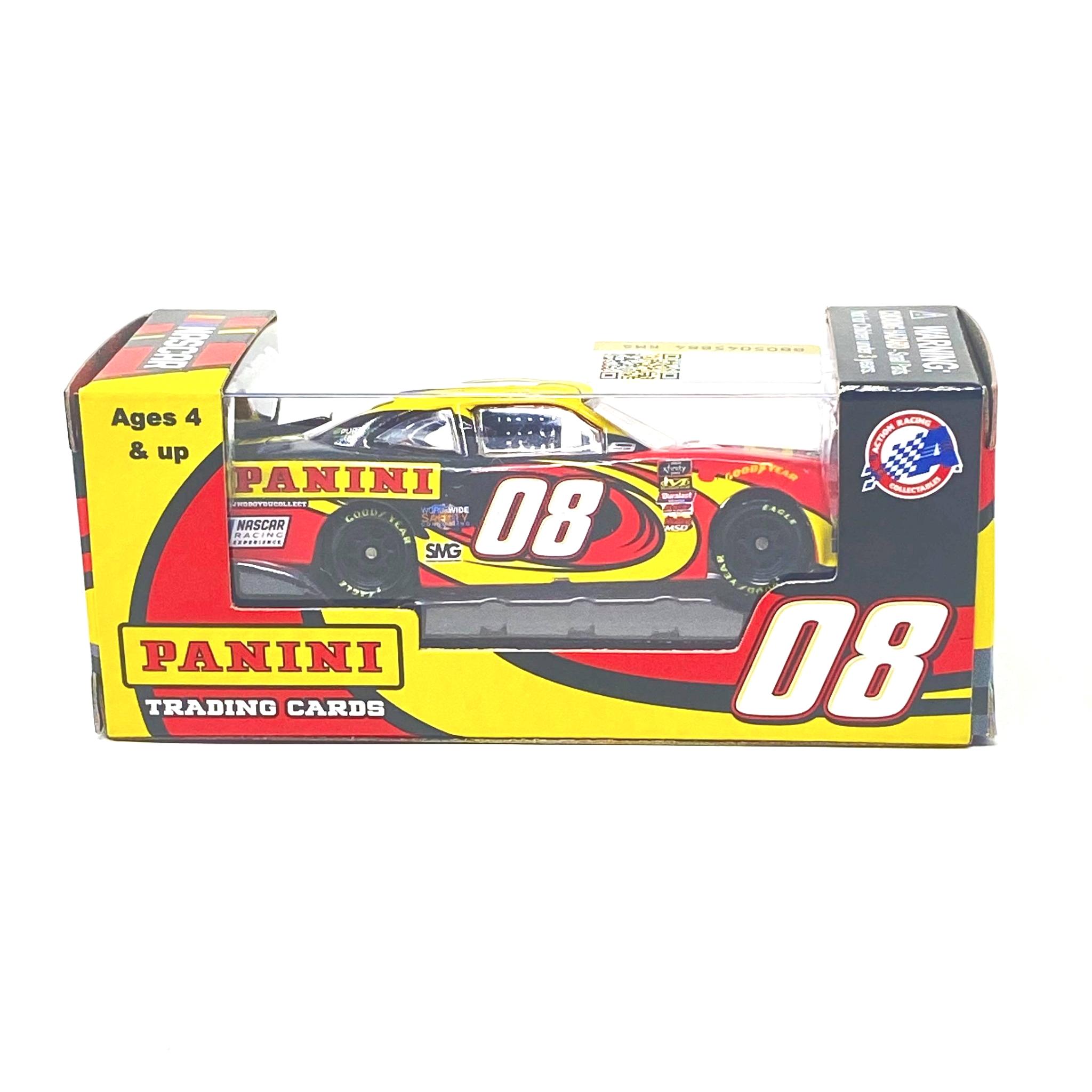 2018 #08 Gray Gaulding Panini Trading Cards Promo 1/64 Action NASCAR Diecast