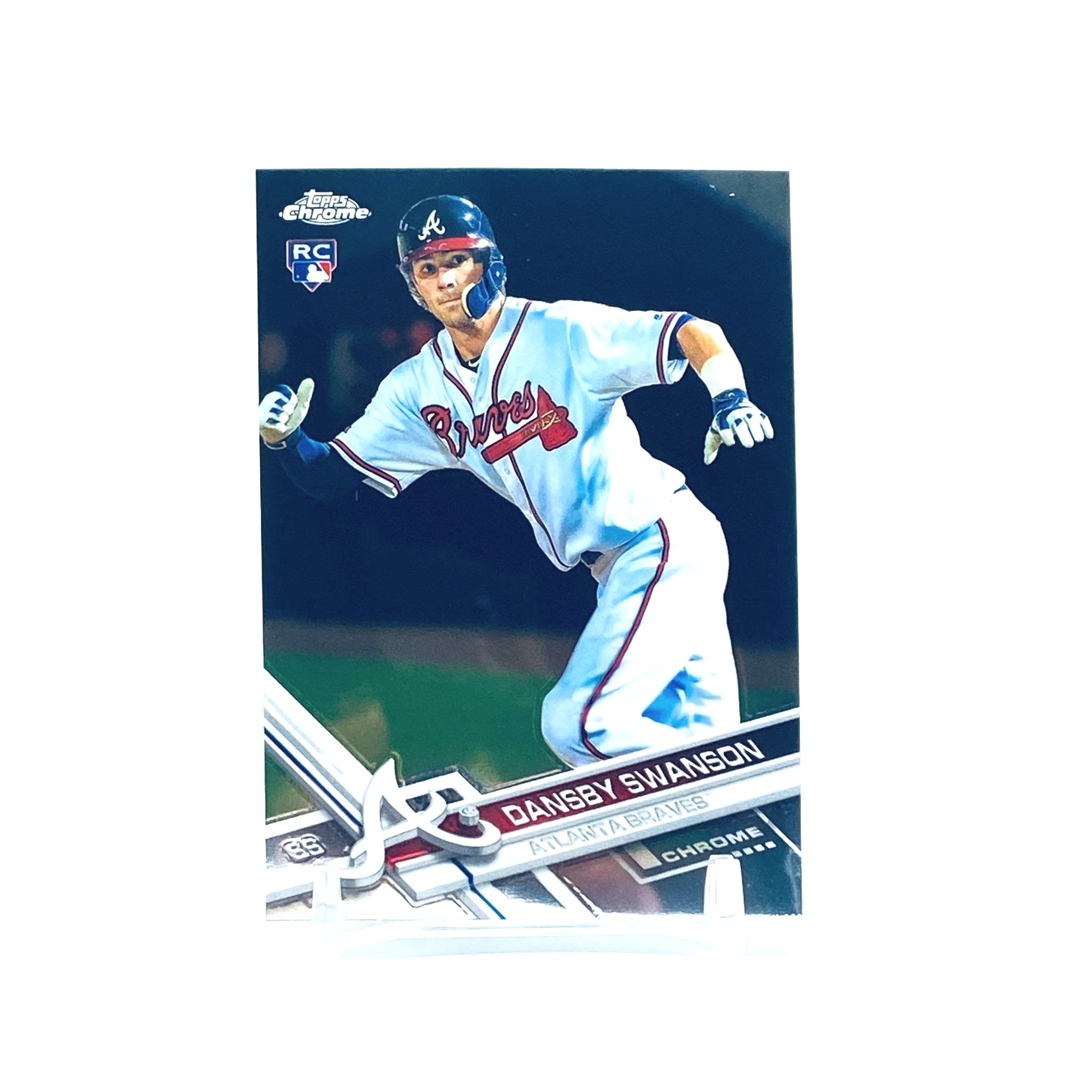 2017 Topps Chrome Dansby Swanson Rookie Card Atlanta Braves