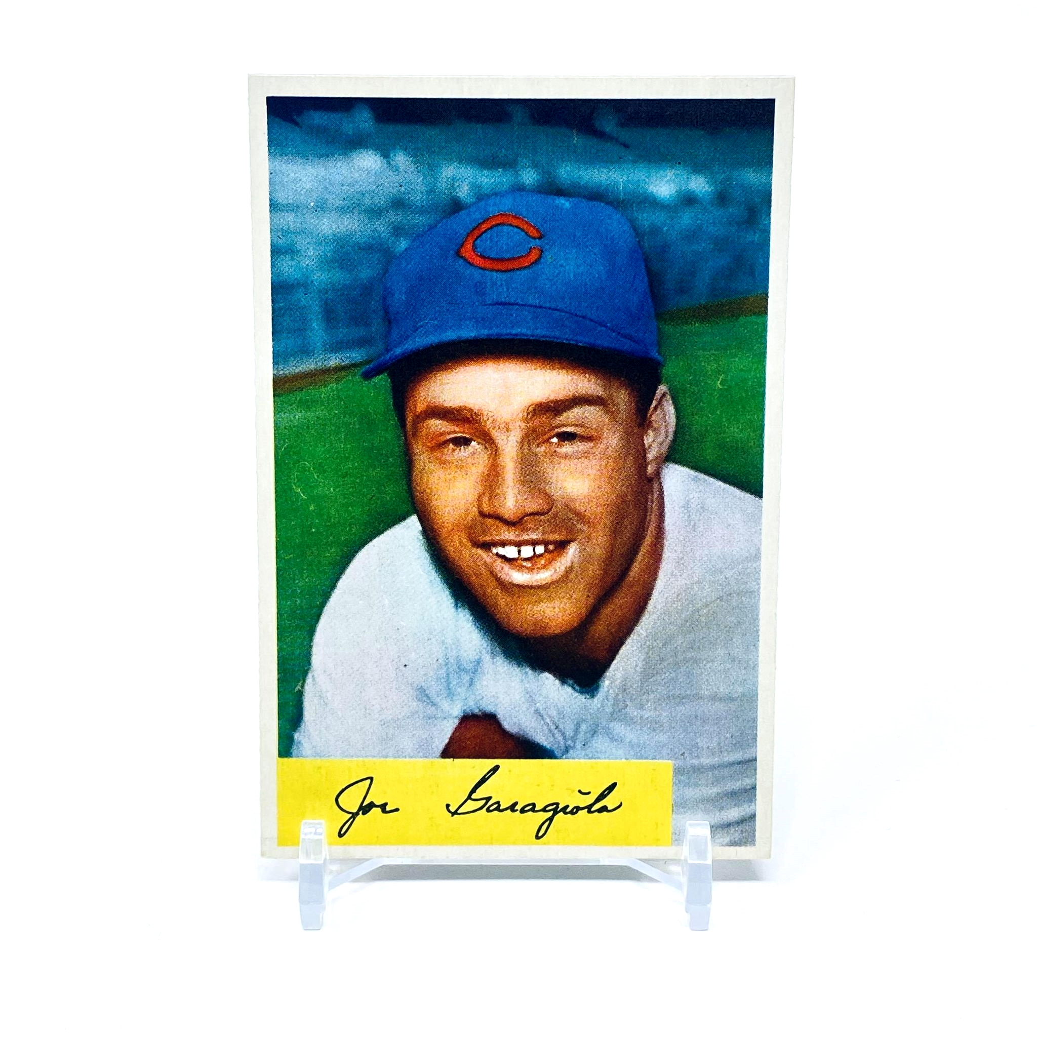 1954 Bowman Joe Garagiola Chicago Cubs