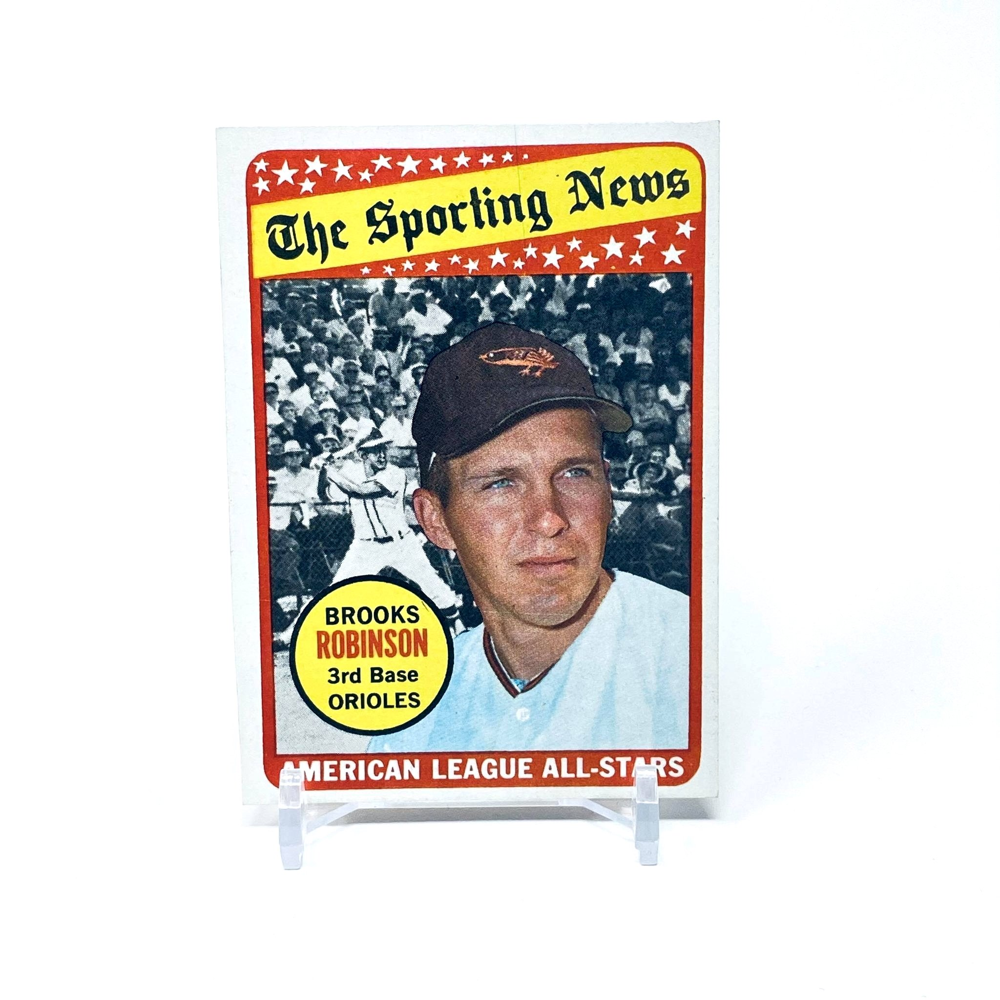 1969 Topps A.L. All Star Brooks Robinson Baltimore Orioles