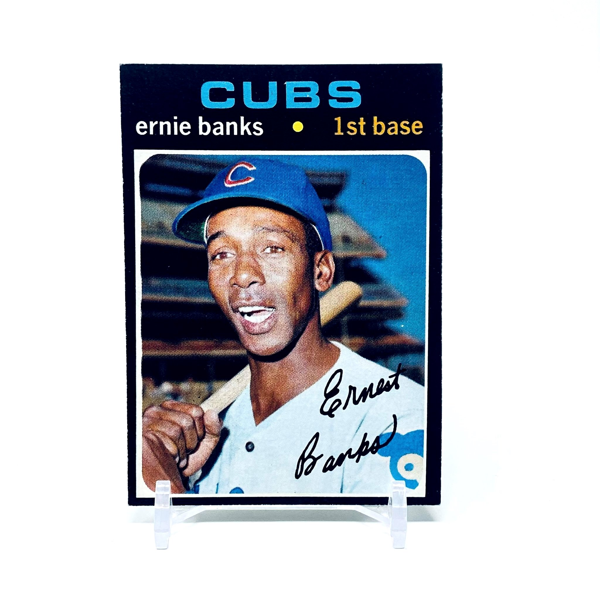 1971 Topps Ernie Banks Chicago Cubs