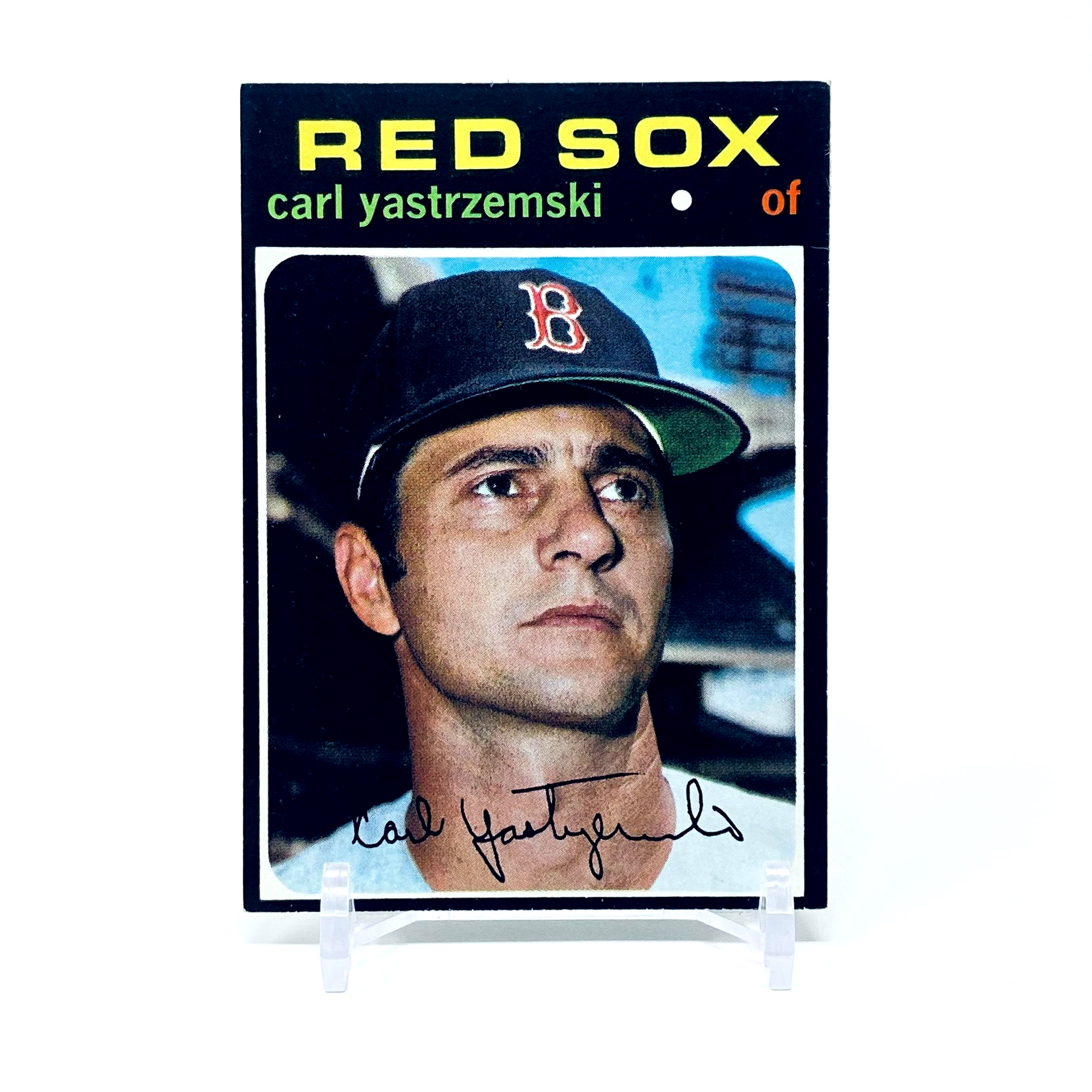1971 Topps Carl Yastrzemski Boston Red Sox