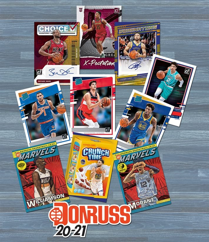 NEW RELEASE : 2020-21 Panini Donruss Basketball PICK YOUR PRICE Group Break #5902