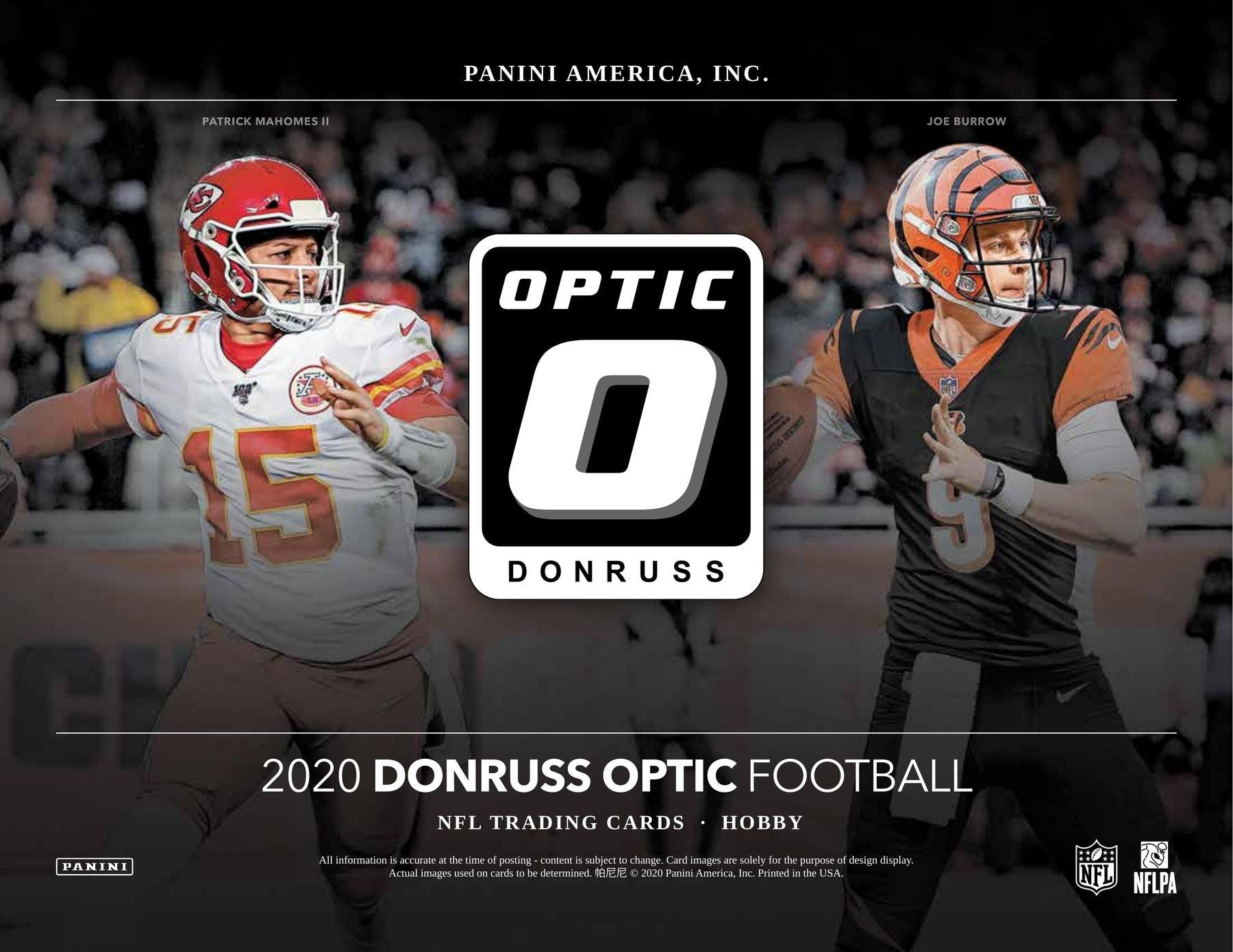 NO BRAINER MIX : 2020 Prizm & Optic Football PICK YOUR TEAM Group Break #5900