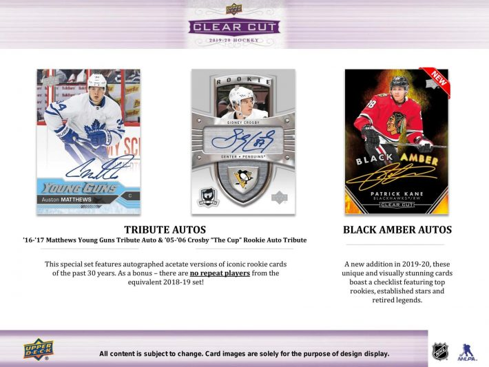 FINAL CLOSER : Clear Cuts Hockey #5895 & Donruss Basketball #5902