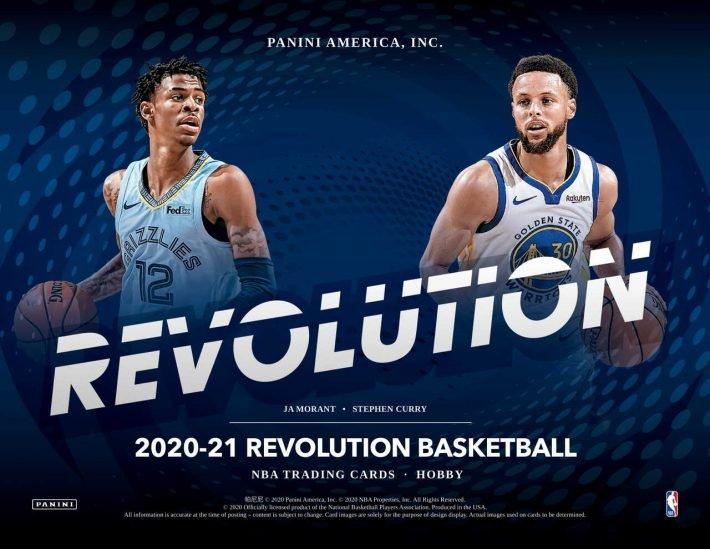 STEAL DEAL : 2020-21 Panini Revolution Basketball Case PICK YOUR PRICE Group Break #6252