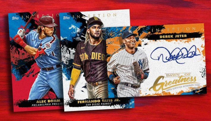 HOT RELEASE : 2021 Topps Inception Baseball 1/2 Case PICK YOUR TEAM Group Break #6114