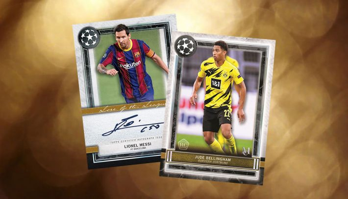 HOT RELEASE : 2020-21 Topps Museum Champions League Soccer PICK YOUR PRICE Group Break #6228