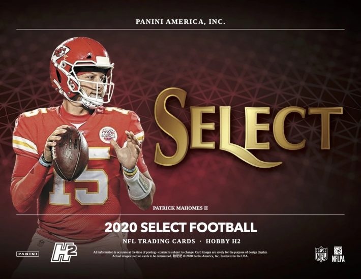 DOUBLE BONUS BREAK : 2020 Panini Select Hobby H2 Football 1/4 Case RANDOM TEAM Group Break #6111