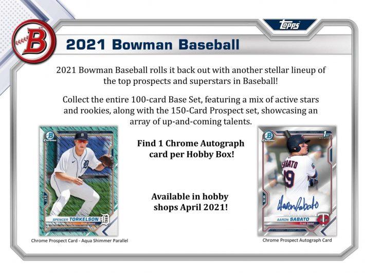 PROSPECT HUNTING : 2021 Bowman Hobby Baseball 1/2 Case PICK YOUR PRICE Group Break #6401