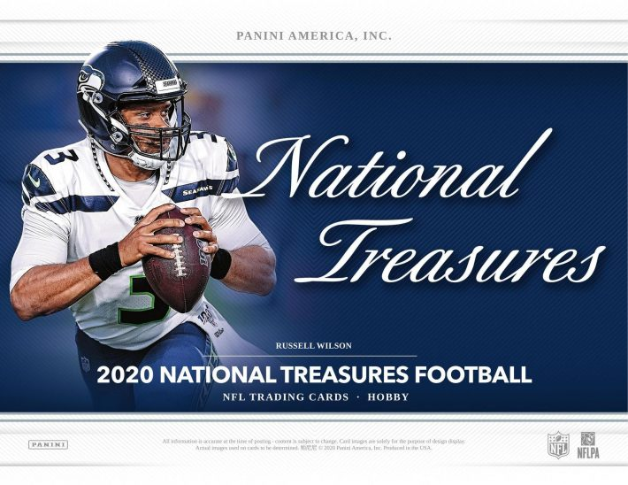 'MAZIN MIX : 2020 Panini National Treasures, Select, One & More Football RANDOM TEAM Group Break #6116