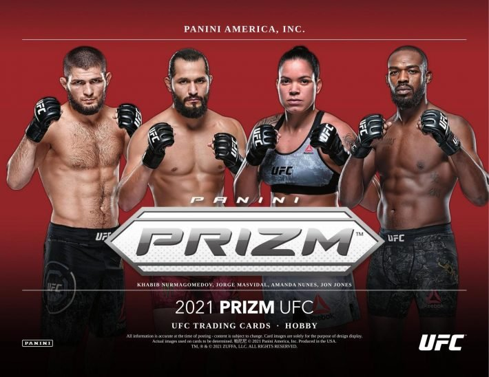 SCORCHING HOT : 2021 Panini UFC Prizm Hobby RANDOM FIGHTER Group Break #6250