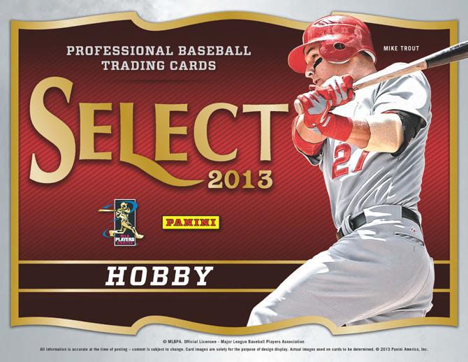 THROWBACK : 2013 Panini Select Baseball RANDOM TEAM Group Break #6254