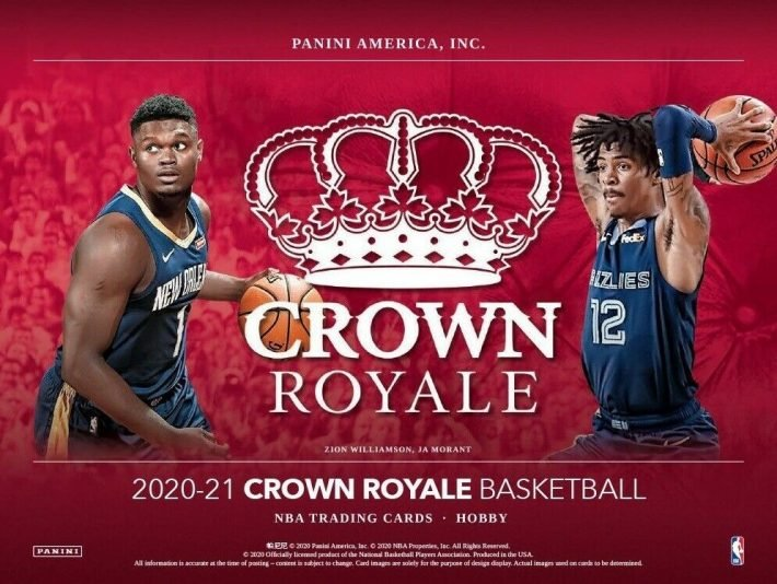 NEW RELEASE : 2020-21 Panini Crown Royale Hobby Basketball 1/2 Case PICK YOUR PRICE Group Break #6195
