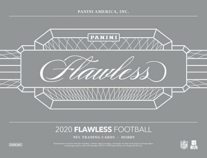 NEW RELEASE : 2020 Panini Flawless Football RANDOM TEAM Group Break #6194