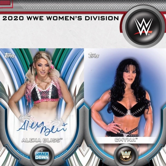 NEW RELEASE : 2020 Topps WWE Women's Division Case RANDOM WRESTLER Group Break #6243