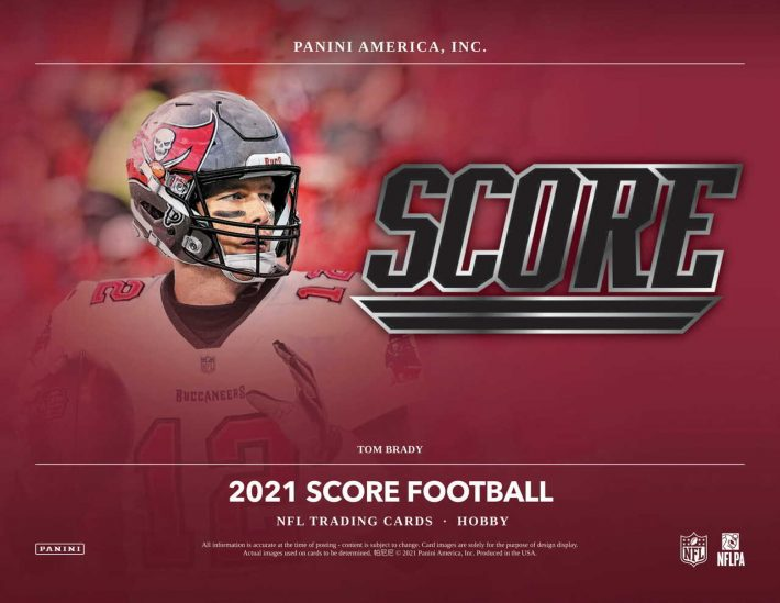 FRESH RELEASE : 2021 Panini Score Football 1/3 Case PICK YOUR PRICE Group Break #6251