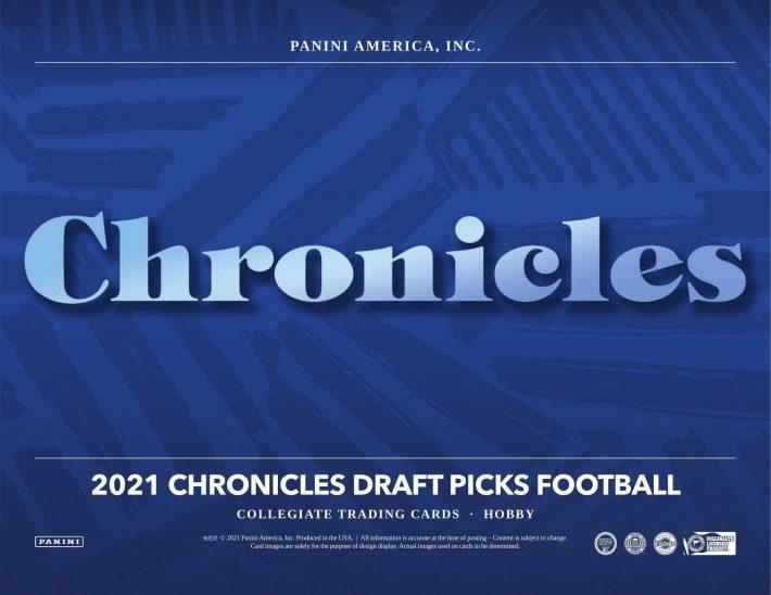 NSCC 2021 DAY #1 PERSONAL BOX : 2021 Panini Chronicles Draft Football Hobby Box