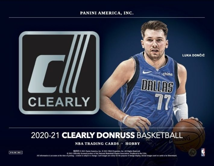 NSCC 2021 DAY #1 : 2020-21 Panini Clearly Donruss Case PICK YOUR PRICE Group Break #6551