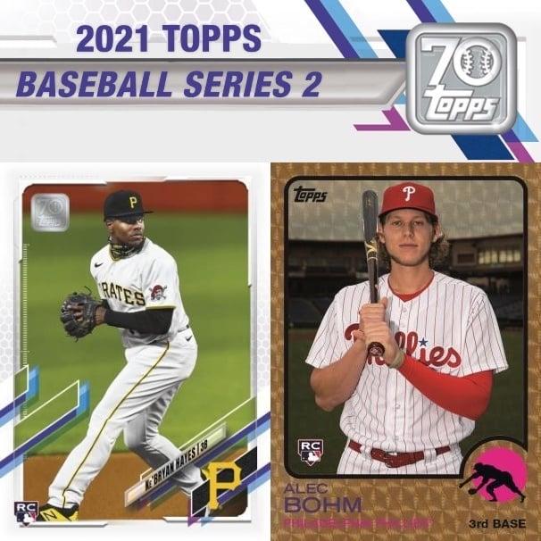 NSCC 2021 DAY #3 PERSONAL BOX : 2021 Topps Series 2 JUMBO HOBBY Baseball