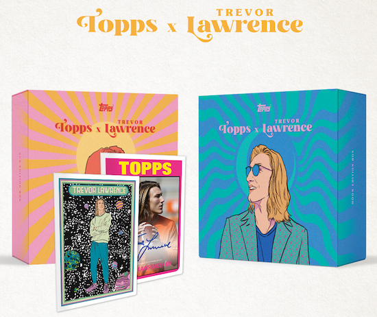 NSCC 2021 DAY #3 PERSONAL BOX : 2021 Topps x Trevor Lawrence Box