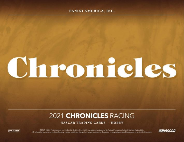 NSCC 2021 DAY #1 PERSONAL BOX : 2021 Panini Chronicles Racing Hobby Box