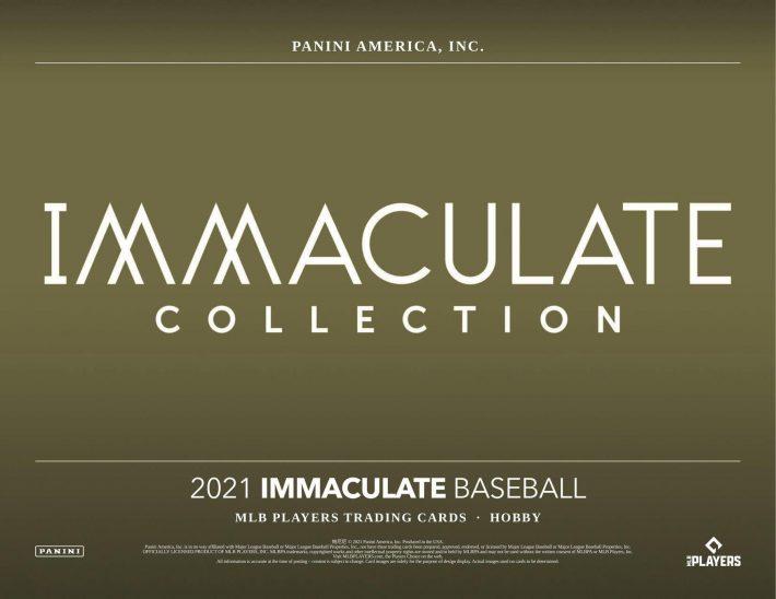 RUN IT BACK : 2021 Panini Immaculate Baseball 1/2 Case PICK YOUR TEAM Group Break #6774
