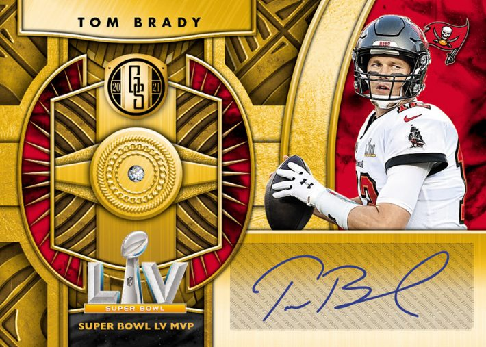 NEW RELEASE : 2021 Gold Standard Football 1/2 Case PICK YOUR PRICE Group Break #6594