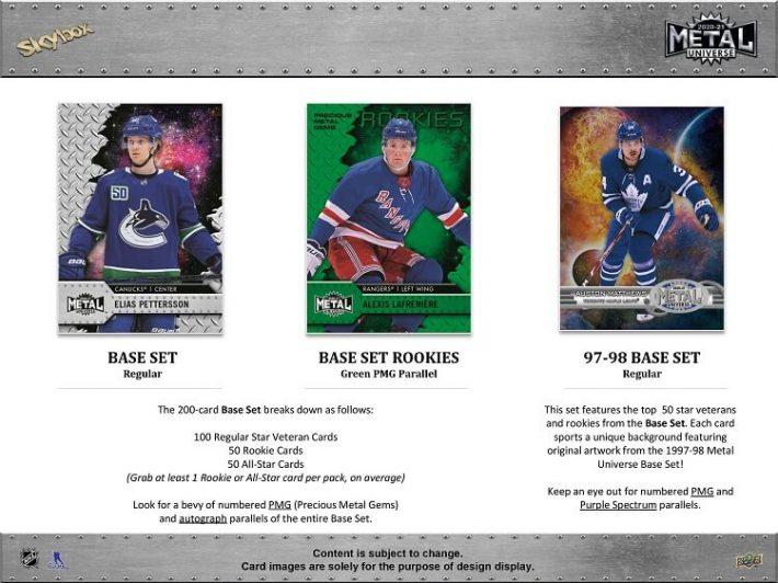 HOT RELEASE : 2020-21 Upper Deck Metal Universe Hockey Case PICK YOUR PRICE Group Break #6760