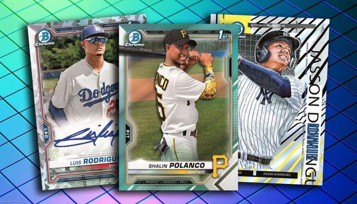 MEGA MONDAY : 2021 Bowman Chrome HOBBY Baseball 1/2 Case PICK YOUR PRICE Group Break #6890 + GIVEAWAY