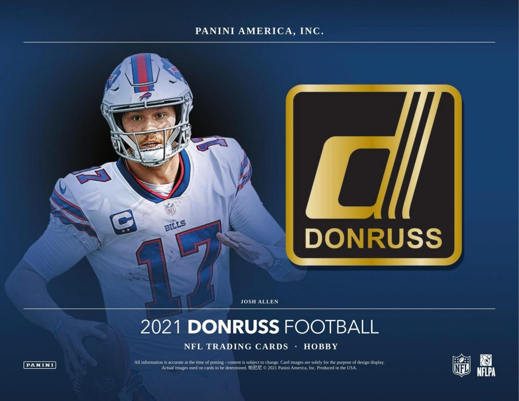 RELEASE DAY : 2021 Panini Donruss Football PICK YOUR PRICE